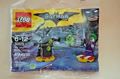 LEGO 30523 Batman The Joker Battle Training New In Sealed Package  pb-10