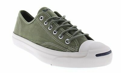 3595c497e8c1 Converse Women s Size 8.5 Jack Purcell OX Low Soft Canvas Green Cushioned  Shoes