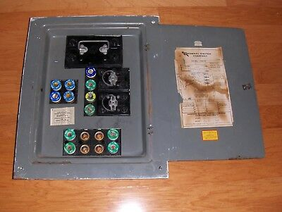 General Switch Corporation Complete Electrical 100 Amp Fuse Box