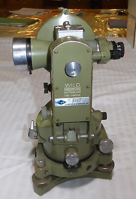 Wild Heerbrugg T 16 Theodolite Today the company is called LEICA Sold as is
