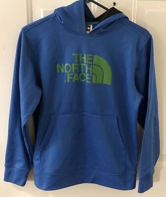 Lot of 2 Boys Jackets - THE NORTH FACE - Pullover & Zip Up - L 14/16 -Free Ship