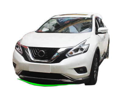 Front Grille Engine Cover Trim for 2015-2017 Nissan Murano ABS Molding Cover