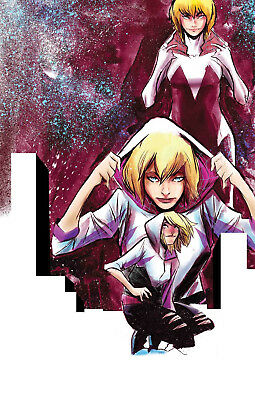 SPIDER-GWEN #34 Edge Spiderverse Homage Marvel Comics NM Presale 7/16/2018
