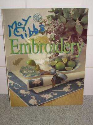 Australian  May Gibbs Embroidery Book Craft Crafts