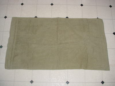 Vintage US Army Olive Drab Towel & Wash Cloth WW2 Korea Early 50s