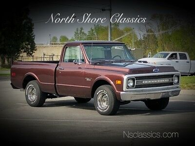 C-10 C10-CUSTOM/10-NEW PAINT-TENNESSEE  SHORT BED TRUCK 1970 Chevrolet C-10 for sale!