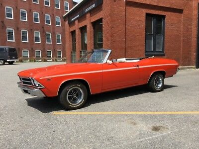 Chevelle -HUGGER ORANGE CONVERTIBLE -RELIABLE/SOLID/CLEAN F 1969 Chevrolet Chevelle for sale!