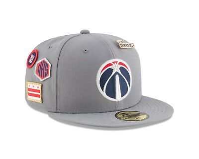 timeless design 9fdad f9a61 Washington Wizards New Era 2018 NBA Draft Cap 59FIFTY Fitted Hat – Gray