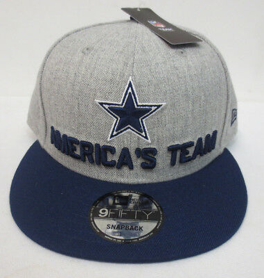 Dallas Cowboys 2018 Draft Day Hat Cap Americas Team Them Boys New Era  Snapback 3dda3e2db4b