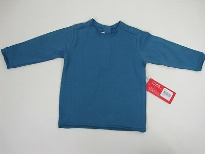Plum Sister Baby Girls Long Sleeve Stretch Top sizes 0 1 Colour Blue
