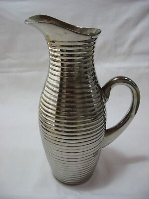Art Deco Era Wine Decanter, Urn/Jug - Appears to be Silver - No Marks