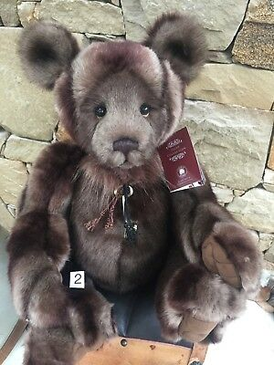Charlie Bears Shane 2 50cm Collectable Plush 2018 New Release Bear