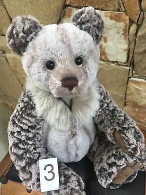 Charlie Bears Julian 3 Small Collectable Plush 2018 New Release Bear