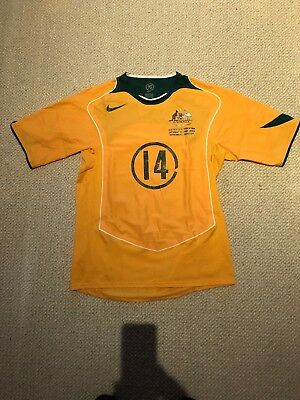 Socceroos World Cup Simon Colosimo Game Jersey Shirt Adult Size L