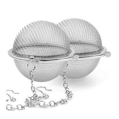 2PCS Pratique Boule a The Tea Epices Infuser Filtr S2M6