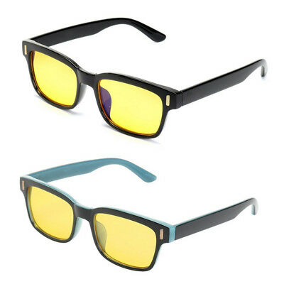 Unisex Gaming Glasses Computer Anti Fatigue Blue Light Blocking UV Protective a