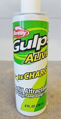 Berkley Gulp Alive Recharge Liquid - 236 ml bottle