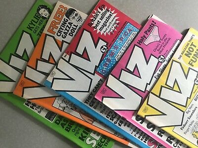 VIZ comics all in great condition lot of 5 Issues: 43, 44, 45, 46, 47