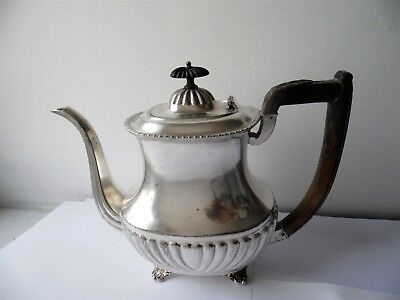 Antique American Continental Silver Company Silver Plated Teapot