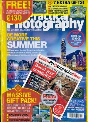 Practical Photography Magazine June 2018 With Free Gifts ~ New ~
