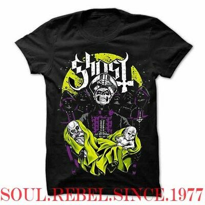 Ghost  Punk Rock Band Demons T Shirt Men's Sizes