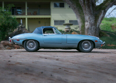 1969 Jaguar E-Type stock XKE JAGUAR 1969
