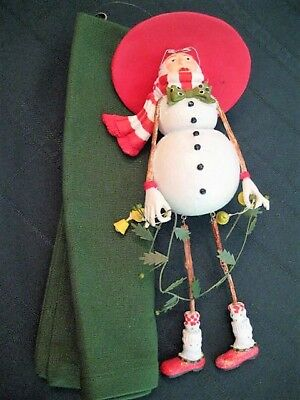 Patience Brewster Department 56 Christmas Krinkles - Blushing Snow Woman