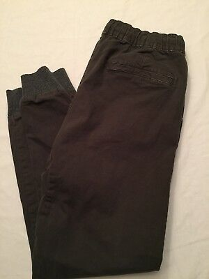 d0db7a48 Men's Modern Amusement Elastic Tie Joggers Pants Large 34-38 X 28 I Green  GUC
