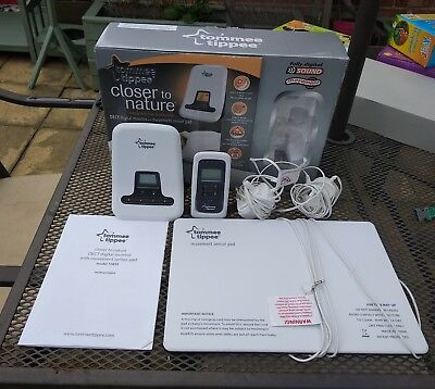 Tommee Tippee Closer To Nature Digital Monitor & Movement Sensor Pad Boxed