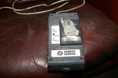Hawker Oldham Mining Caving lamp battery charger three stage good working order