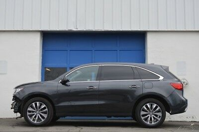 Acura MDX 3.5L Technology Repairable Rebuildable Salvage Lot Drives Great Project Builder Fixer Easy Fix