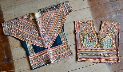 Aceh Indonesia Pair of Embroidered Garments