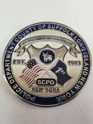 Suffolk County Police Challenge Coin NYPD Law Enforcement Coin