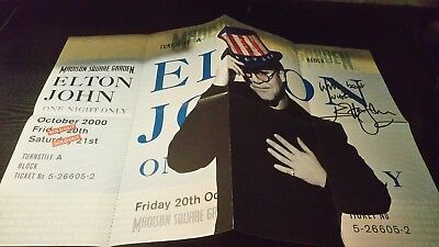 Elton John - One Night Only Tour Poster - MINT Condition