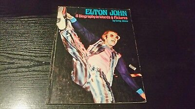 Elton John - A Biography in Words & Pictures - EXCELLENT Condition