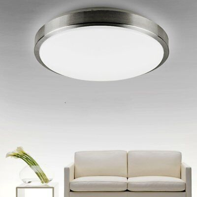 12W LED Ceiling Light Waterproof IP44 4000K White Round Flush Mount 1050 lumens