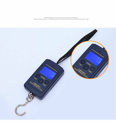 Mini 40kg/10g Digital Hook Scale Accurate Carry Electronic Scale Portable SA