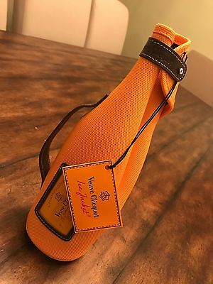 VEUVE CLICQUOT FRENCH CHAMPAGNE INSULATED BOTTLE TRAVEL CARRY TOTE BAG Neoprene