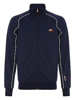 Ellesse Men's Mercado Track Top - Navy  - Polyester Track Top - Size:  LARGE