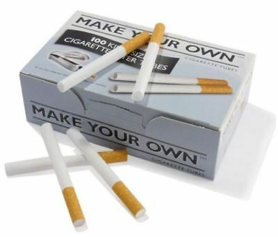 Rizla Concept Make Your Own Empty Cigarette Filter Tubes King Size 500 Pack Smok