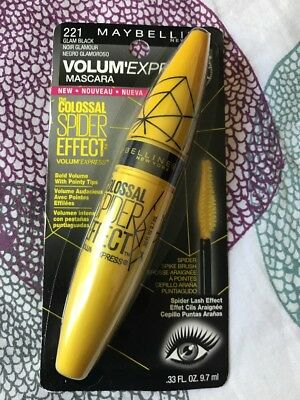 febbb75ade3 Maybelline Volume Express 221 - Glam Black Mascara The Colossal Spider  Effect