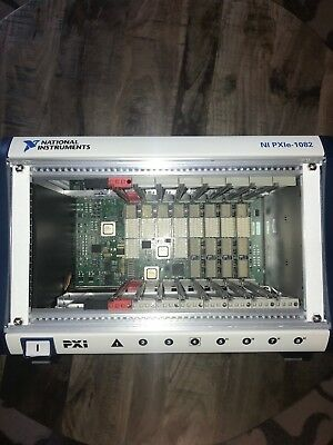National Instruments NI PXIe-1082 PXIe, 8-Slot, Up to 8 GB/s PXI Chassis
