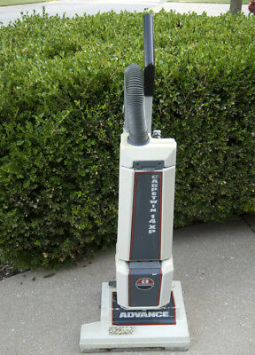 "Advance CarpeTwin 14 XP Commercial Upright Carpet Vacuum 16"" Path - Tested"