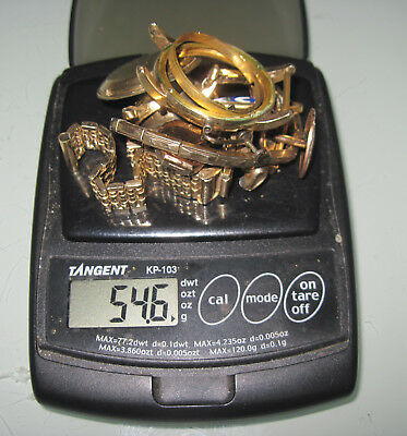 54.6 grams Gold Filled Scrap