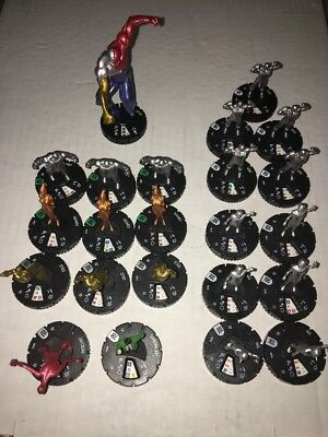 DC Heroclix Worlds Finest Metal Men Lot SR Alloy + 5 Rares