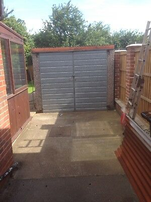 Used concrete sectional Garage