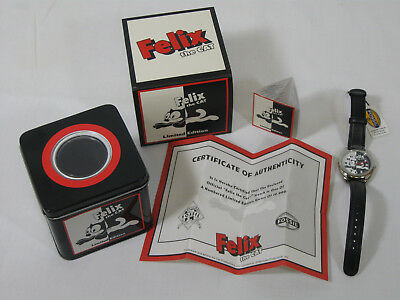 FOSSIL FELIX THE CAT wrist watch. Limited Edition Numbered. Japan movement