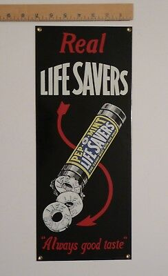 RARE Life Savers Pep O Mint Ande Rooney Vintage Repro Advertising Sign Metal