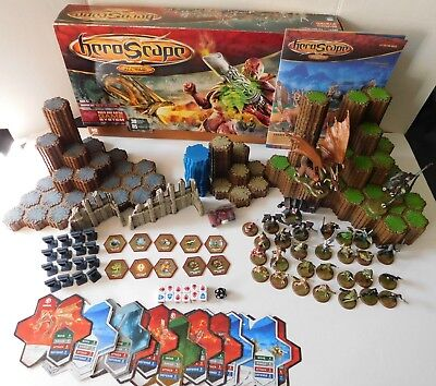 HeroScape ~ Master Set: Rise of the Valkyrie ~ 2nd Edition ~ COMPLETE w/Box