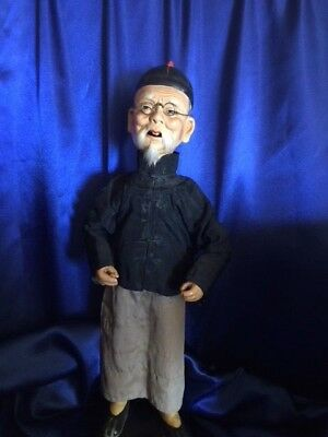 Antique Chinese Merchant Doll